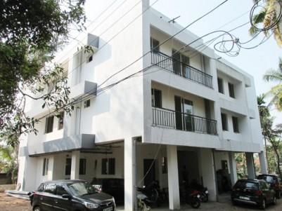 830 Sq:feet 2 BHK Ready to Occupy Flat for sale at Kollanpadi Junction. Near Hill Palace Tripunithur