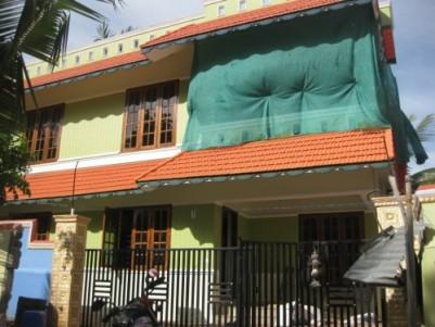 1600 Sqft 4 BHK House  for Sale at Kochu Ulloor, Thiruvananthapuram.