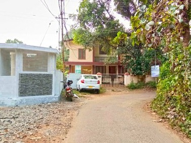 Developed Residential Land for Sale at Aluva, Near Mangalapuzha Bridge