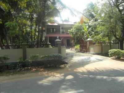 3000 Sq.ft 4 BHK House  on 20 cents of land for sale at Kummannoor,Kottayam.