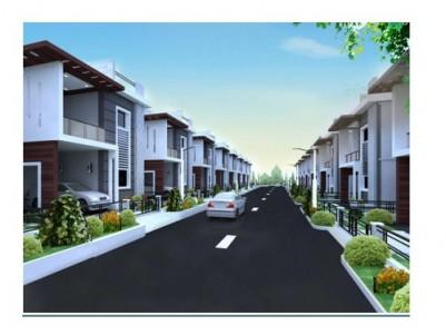 Economic villas/ plots near NH 66 Cherthala-Alapuzha