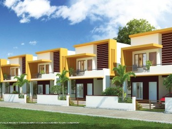 Maple Villas - Affordable Villas for sale at Kazhakoottam, Trivandrum.
