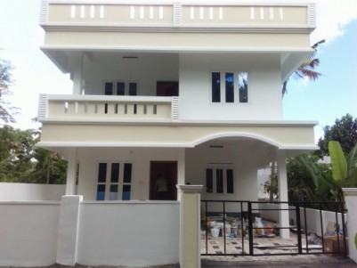 1600 Sq.ft 3 BHK New House on 4.2 Cent land for sale at Thevakkal,Ernakulam.