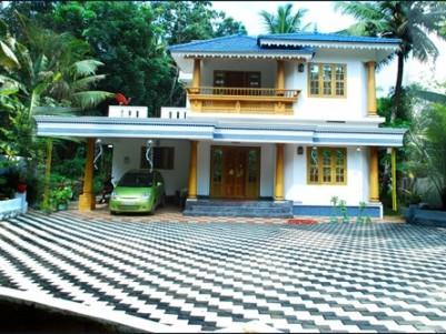 2200 Sq.ft 3 BHK Villa for sale at Ettumanoor,Kottayam.