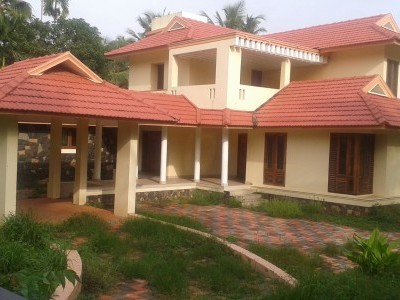 3300 Sqft 4 BHK Luxury House for sale at  Puthiyatheru,Kannur.