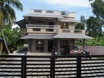 2200 Sq.Ft 3 BHK  House on 10 Cent of Land  for Sale at Koonammavu,Ernakulam.