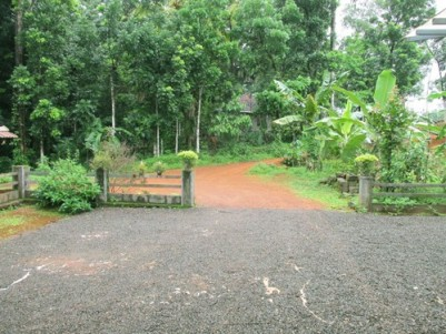 93 Cent Land with House for sale at Elanji,Ernakulam.