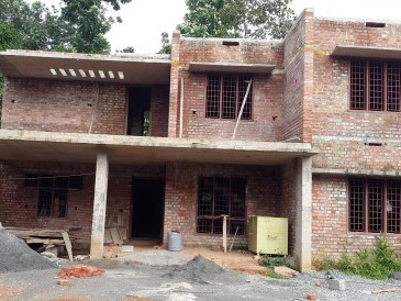 Partially finished House at Adoor