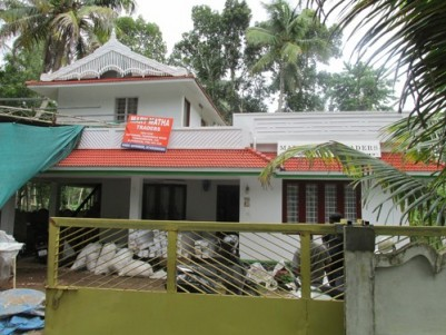 1800 Sq.ft 3 BHK House on 10.5 Cent land for sale at  North Paravur,Ernakulam.