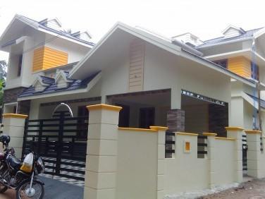 2500 Sqft 4 BHK Modern House for sale at Changanacherry,Kottayam.