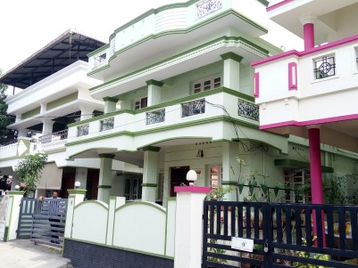 2000 Sq Ft 4 BHK House on 4 cent land for sale at Ponekkara, Edappally, Ernakulam