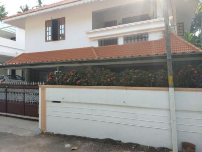 Double Storied House For Sale at Pongumoodu, Trivandrum