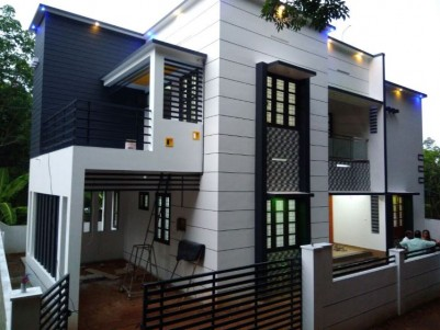 Contemporary Architect designed posh house for sale at Nedumangad, Trivandrum
