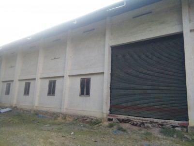 8500 Sq Ft Godown / Showroom for rent at Kizhakkambalam, Ernakulam