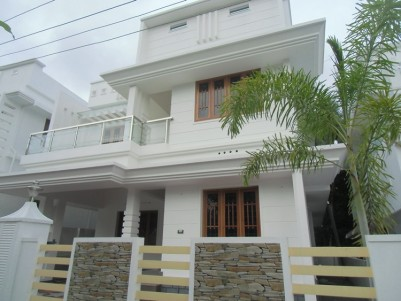 2100 Sq Ft Double Storied House for sale Near Aluva Town, Ernakulam