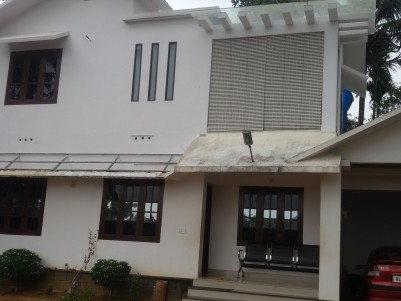 Agricultural land with Double storied house for sale at Sultan Bathery, Wayanad