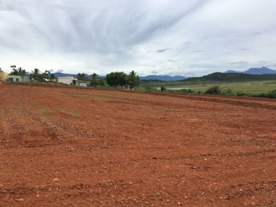 8 Acres of Bhavani water frontage land suitable for resorts for sale at Kallipatti, Tamil Nadu