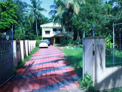20 Cents of land with 2600 Sq Ft Semi Furnished House for sale at Karaparamba, Kozhikode