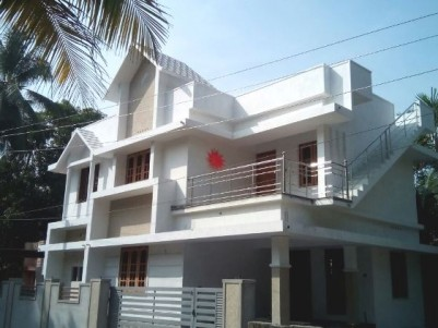 1500 Sq Ft 4 BHK Double Storied House for sale at Puthenpally, Varapuzha, Ernakulam
