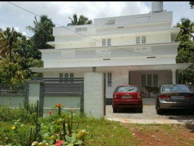 1800 Sq Ft 3 BHK Lake View Point House for sale in Irinjalakkuda, Thrissur