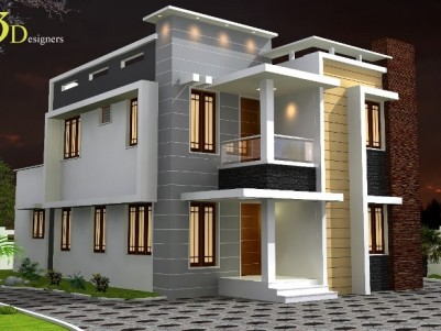 1500 Sq Ft 3 BHK Double Storied House for sale at Chendamangalam, North Paravur, Ernakulam