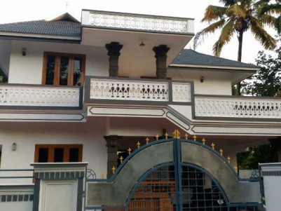Double Storied House for sale at Sreemoolanagaram, Aluva, Ernakulam
