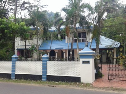 2700 Sq Ft 4 BHK Independent House For Sale at Chengannur, Pathanamthitta.