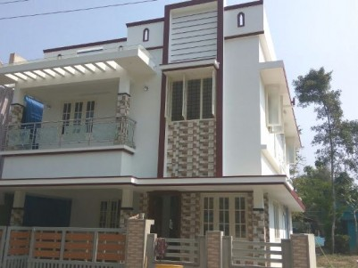 1620 Sq Ft 3 BHK House on 3 Cents of land for sale at Varapuzha, Ernakulam