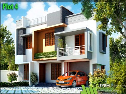 JEYEM BUILDERS - Luxury Villas In Chirayam, Near Kongorpilly, Ernakulam