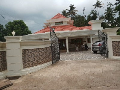 2900 Sq Ft 4 BHK Semi Furnished House on 23 Cents of land for sale at Perumbavoor, Ernakulam