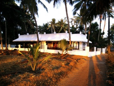 1800 sq ft on 16 cent  House for sale at Varkala,Trivandrum