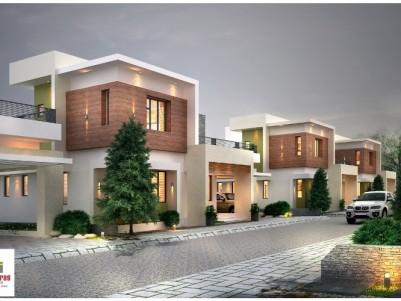 1700 Sqft Gated Colony Villa for Sale at Mattumantha,Palakkad