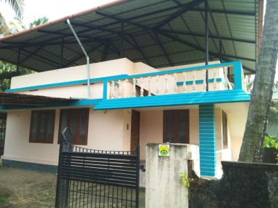 1300 Sq Ft 3 BHK On 4 Cent House For Sale At Kadavanthra, Ernakulam.