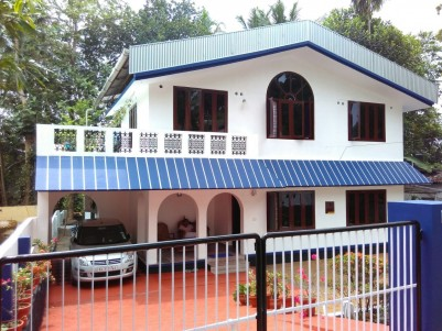 2500 Sqft Double Storied House for Sale at Changanasserry, Kottayam