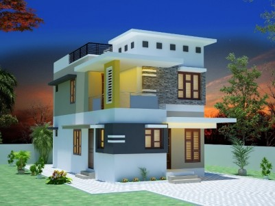 1800 Sq Ft 3 BHK On 4 Cent New House for Sale at Puthur, Palakkad.
