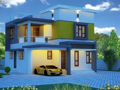 1900 Sq Ft 3 BHK On 4 Cent New House for Sale at Puthur, Palakkad.