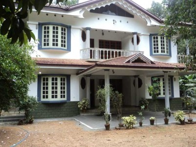 70 Cent Land with 3730 Sqft  Villa for Sale at Pizhaku, Kottayam
