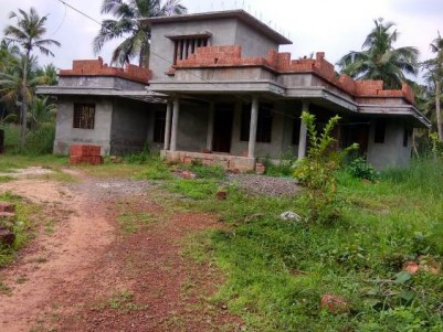 Semi Finished House For Sale at Payyanur, Kannur.