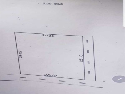 Residential Land for Sale at Panampilly Nagar, Ernakulam.