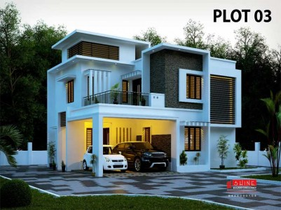 1750 Sq.ft 3 BHK New House for Sale at Puthur, Palakkad.
