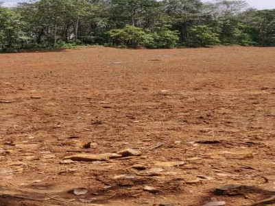 3.35 Acres of Residential Land for Sale Near Nedumbasserry Airport, Angamaly.