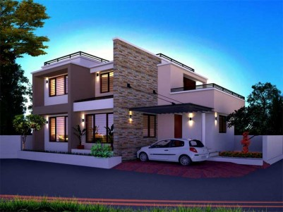 New Posh House for Sale at Tripunithura, Ernakulam.