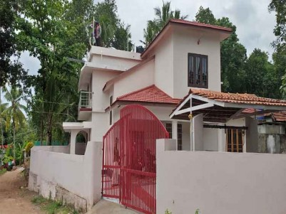 29 Cent Land with Double storey Independent House for Sale at Ashtamudi, Kollam.