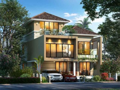 SpaceTon Builders - Tree Tales - Luxury Villas, For Sale at Edapally, Kochi.