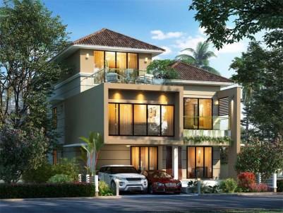 SpaceTon Builders - Tree Tales - Luxury Villas, For Sale at Thrikkakara, Kochi.