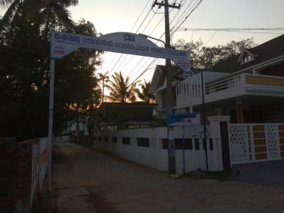 Residential Land for Sale at Aiswarya Lane, NSS School Road, Palluruthy.