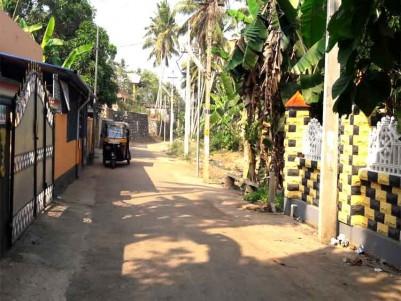 Residential Land for Sale at Attingal, Thiruvananthapuram.
