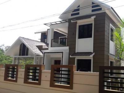 2000 SqFt 4 BHK House on 7 Cents of Land  for Sale at near Nilambur Railway Station Malappuram