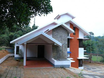 2650 Sq Ft of Beautiful House attached on 13 Cents of Land for Sale  at Wayanad.