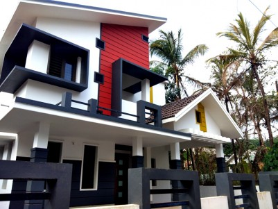1500 Sq.Ft, 3 BHK New Furnished House on 6 Cents for Sale at Nilambur